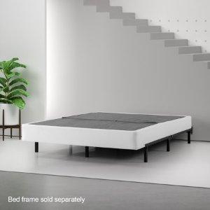 $35起Zinus 半折叠金属弹簧床架 多种尺寸可选