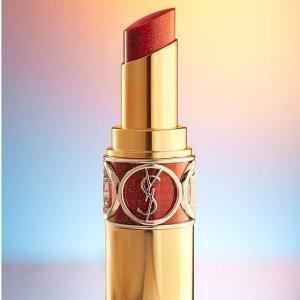 满享7折+折扣区5折YSL Beauty 彩妆护肤热卖 收母亲节套装、圆管新色