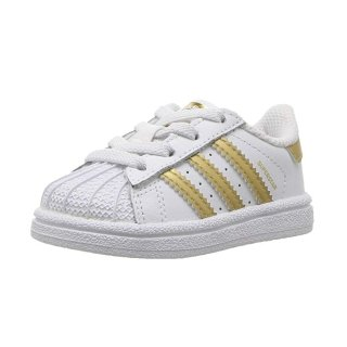 $21.61adidas Superstar 儿童运动休闲鞋,100%真皮
