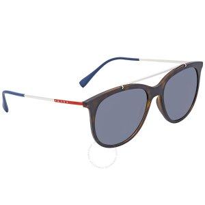 7d3f5f96b93 PradaLinea Rossa Polarized Grey Round Sunglasses PS 02TS U61144.  99.99   340.00. Prada ...