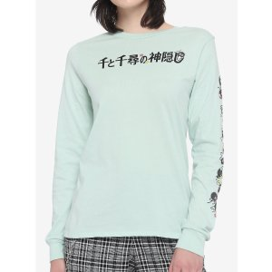 Studio Ghibli Spirited Away Soot Sprite Girls Long-Sleeve T-Shirt