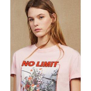 SandroSlogan T恤