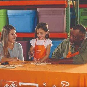 制作投篮游戏架预告:9月The Home Depot 免费的儿童手工作坊活动
