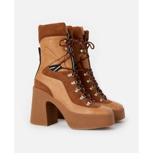 Stella McCartneyWomen's Brown Lace Up Boots | Stella McCartney Men
