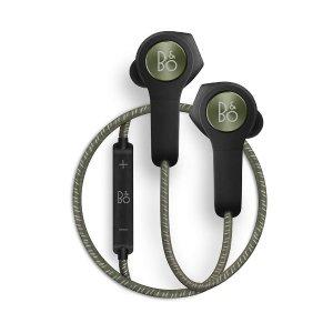 现价 £179(原价£229)B&O H5 无线蓝牙耳机特卖(绿色)