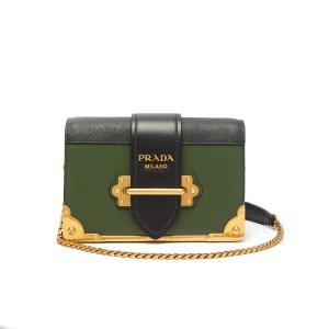 PradaCahier leather cross-body bag | Prada | MATCHESFASHION.COM US
