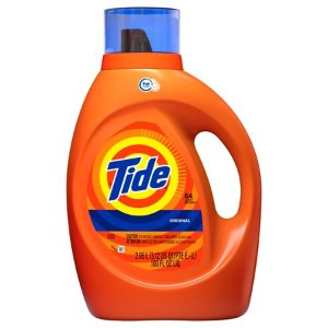 $10 off with $50+ purchaseTide Original Scent HE Turbo Clean Liquid Laundry Detergent, 64 loads, 100 oz