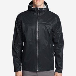 $44.55(原价$99)+包邮Eddie Bauer 男款户外防雨夹克外套 多色可选