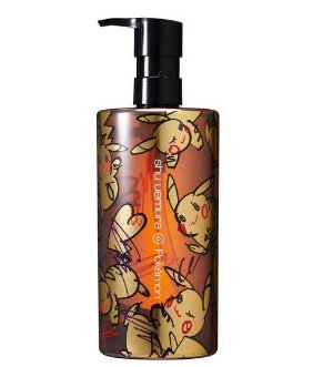 Pikachu-inspired ultime8∞ sublime beauty – cleansing oil – shu uemura