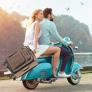 低至2.3折 $79.99收登机箱最后一天:Samsonite 新秀丽等品牌行李箱热卖  249.99收行李箱3件套