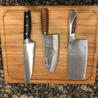 十八子作切片刀、主厨刀评测