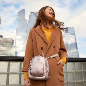 买1件 第2件半价即将截止:Kipling 时尚包包热卖 新款、折扣区也参加