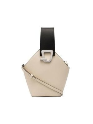 Danse Lente white jonny leather bucket bag