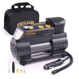AUTLEAD Tire Inflator, 12V Portable Air Compressor