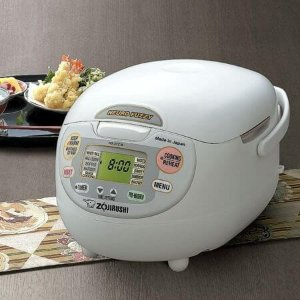 $165.98Zojirushi NS-ZCC18 White 10-Cup Rice Cooker