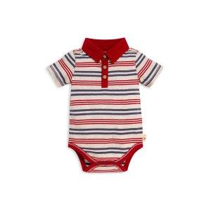 Burt's Bees Baby有机棉婴儿条纹包臀衫