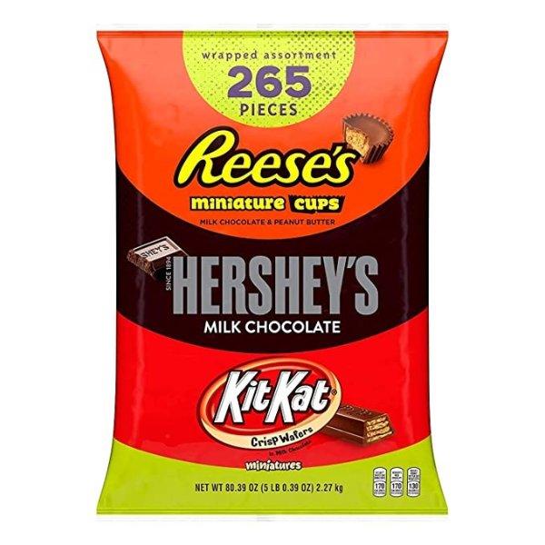 Hershey3种口味什锦巧克力265颗