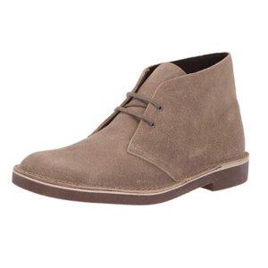 现价$39.87(原价$100) 8码Clarks  Bushacre 2 经典色男士Chukka鞋热卖