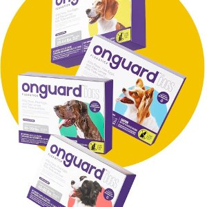 首件5折 + 额外9.5折订购优惠Onguard 宠物体外驱虫药促销