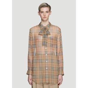 Burberry丝绸衬衣