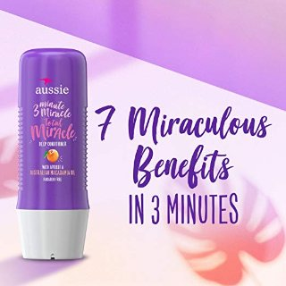 Aussie 3 Minute Miracle Strong Conditioning Treatment 8 Fluid Ounce - Hair Strengthening Treatment (Pack of 6)