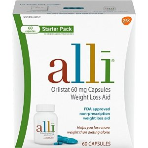 AlliDiet Pills 控脂减肥药 FDA认证 60粒