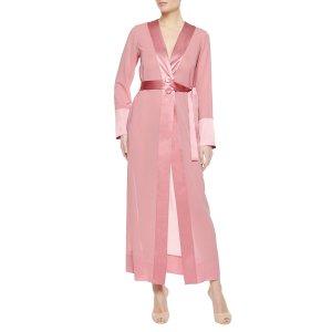 LA PERLA 粉色睡衣长裙
