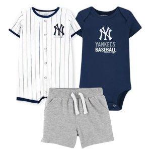 低至6折 棒球队爬服上新Carter's童装官网 球队粉丝专区,人气小球迷都这么穿