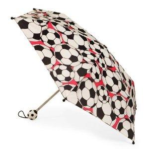 Totes足球图案儿童折叠伞