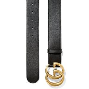 Gucci相当于美金$349,包税经典4cm双G腰带