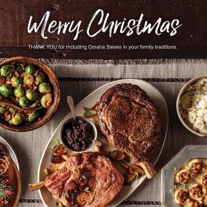 圣诞节大餐 含菲力牛排、无骨猪排、 奥马哈汉堡等21份食材