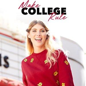低至$5.99 大学生返校必备迪士尼官网 大量学习文具、家居用品、服装服饰周边上新