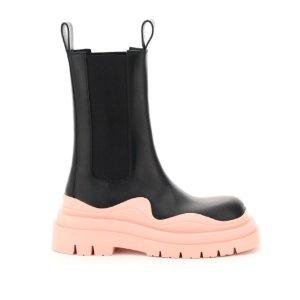 $786(原价$925)手慢无:Bottega Veneta 粉色厚底靴上架 黄金码暂全