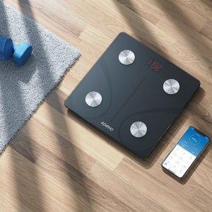 低至6.9折 优惠价€20.79起RENPHO 智能体脂秤专场热促 支持手机APP 检测多项数据