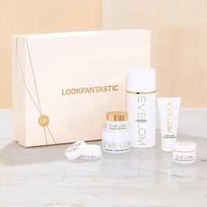 变相3.4折 最低仅€40(价值超€117)上新:Lookfantastic X EVE LOM 美妆礼盒 含正装卸妆膏等6件