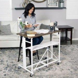 UP2U™ Sit-Stand Adjustable Fold-Away Desk & Workstation