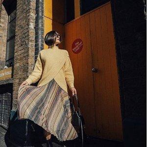 低至5折KarenMillen官网大促  春季外套、开衫气质少女穿起来