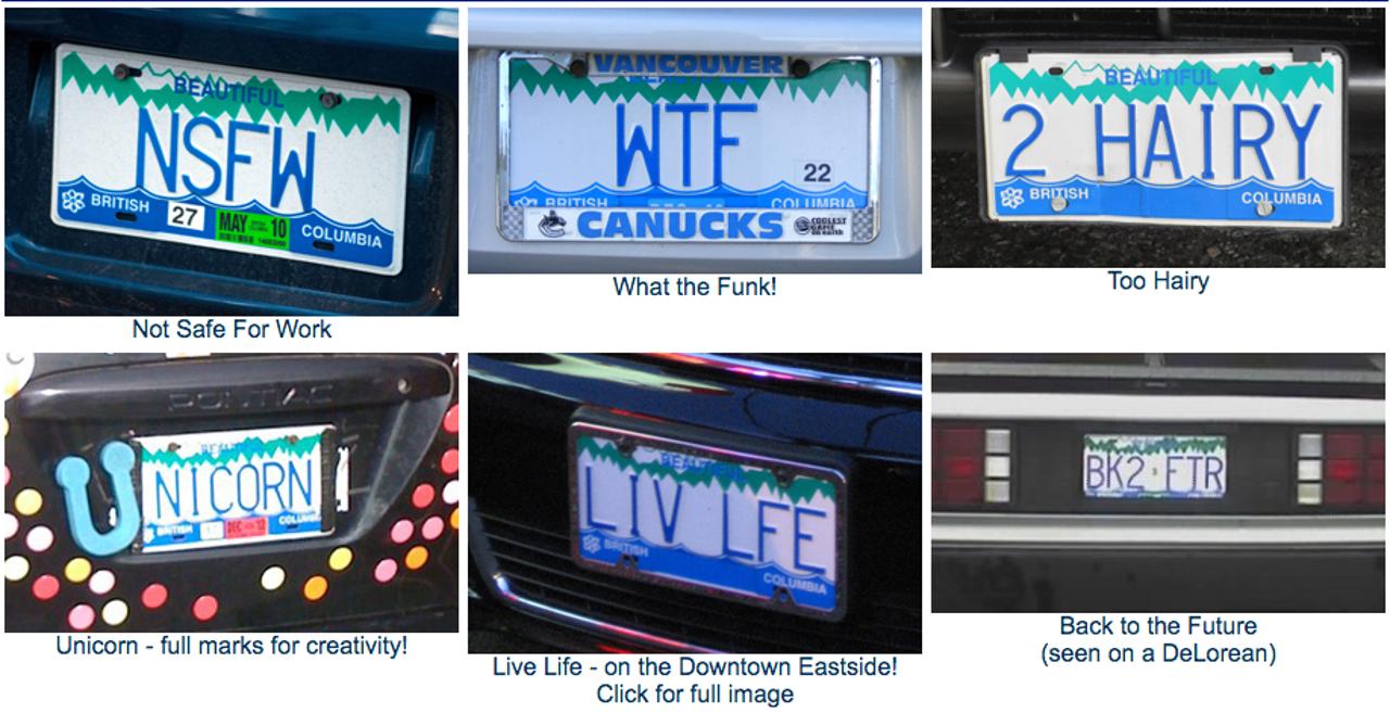 干货   在加拿大如何拥有属于自己最特别的车牌