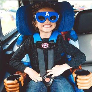 无靠背安全座椅$18.4起KidsEmbrace 儿童高背汽车安全座椅,超高颜值又安全