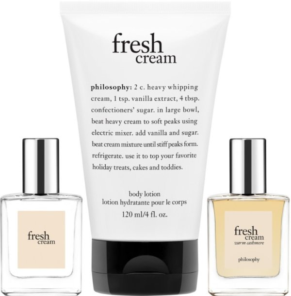 体乳和香水3件套