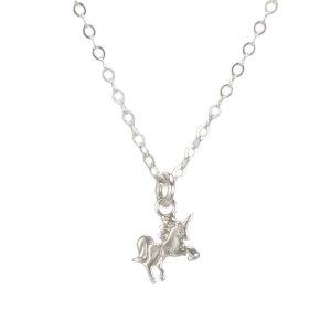 Dogearedmini unicorn necklace