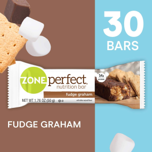 Extra 30% OffZonePerfect Protein Bars, Fudge Graham (30 Count)