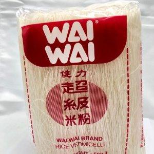 仅€1 亚超人气产品柔韧可口Wai Wai 泰国健力超级细米粉热卖 做星洲炒米粉就用它