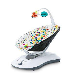 $89.99 (原价$179.99)4Moms rockaRoo 婴儿电动安抚摇椅