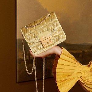 低至5折+额外8折 $180收链条包Furla官网 季中美包限时大促 经典方糖包必收!