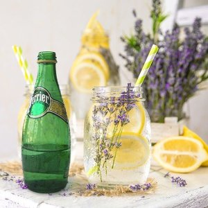 PerrierCarbonated Mineral Water, 16.9 fl oz. Plastic Bottles (24 Count)
