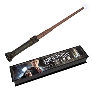 The Noble Collection NN1910 Harry Potter Illuminating Wand, 14-Inch @ Amazon
