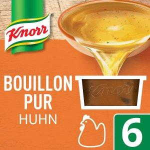 仅售€1.89 厨房必备Knorr 家乐浓汤宝 老母鸡口味 6枚入