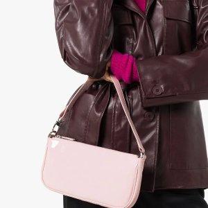 by FARRachel patent-leather shoulder bag