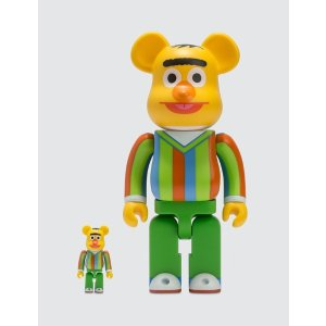Medicom ToyBe@rbrick 100% & 400% Bert